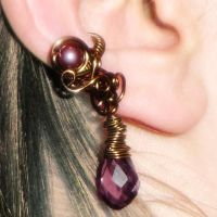 Baroque Ear Cuff by AmeliaLune