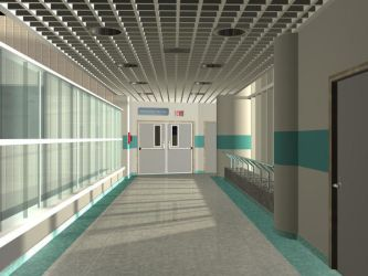 Hospital Hall by triller14