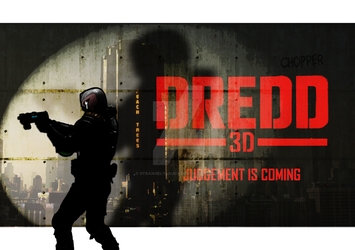 Dredd 3D - animated / alt poster by strangelysaucy