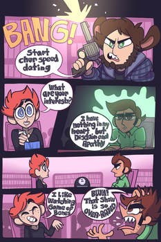 HooDs: Speed Dating [4] by DabroodThompson