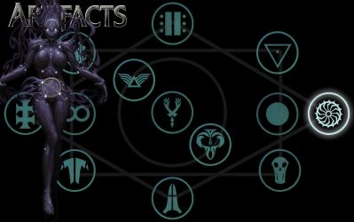 Artifacts Wheel of Shadows by Troilus