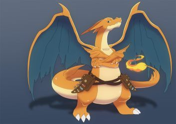 Vulcan - The Power Obsessed Charizard Y by That-Stupid-Dingo