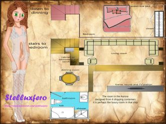Clarisse with room floor plans by Stelluxfero