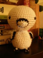 Crocheted Polo the Platypus by thecraftinista