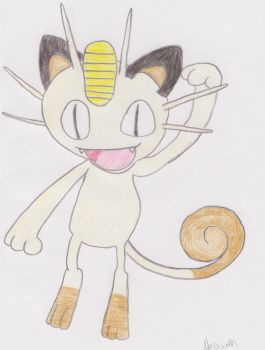 Meowth by samwinchester14