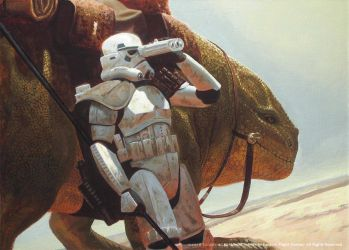 The Dewback Rider by JakeMurray
