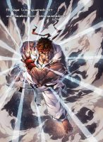 Hadouken - RYU from Street Fighter by marvelmania