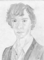 Benedict Cumberbatch by paschinpurple