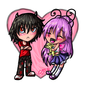 Chibi Love by Crysums