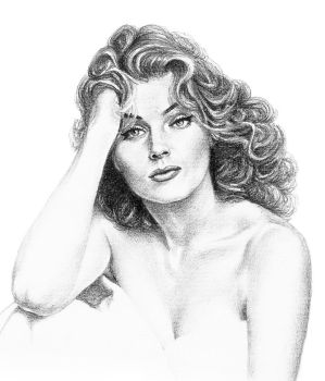Anita Ekberg - Feeling romantic by subhankar-biswas