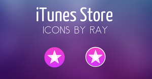 iTunes Store iOS 11 Inspired Icons by Ray by Raiiy