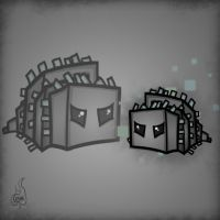 Minecraft Mob Spotlight: Silverfish by TruCorefire