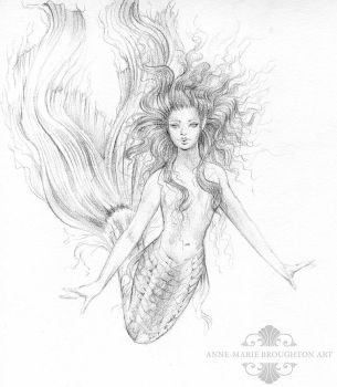 Sabina Mermaid by Mocten