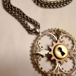 Clockwork Geometric Necklace by SteamSociety