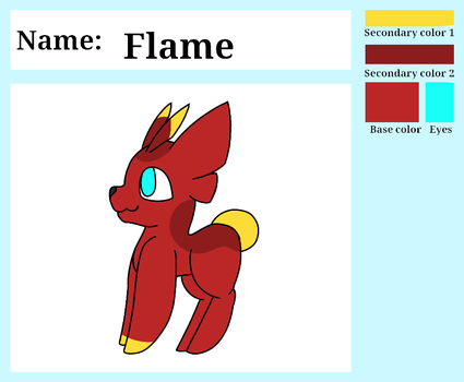 Flame by Spottedtail-Cat-Art