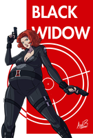 A Whole Lotta Joey - Black Widow by Axel-Rosered