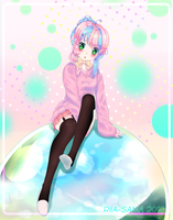 [CONTEST ENTRY] Riding on a Bubble by Riia-sama