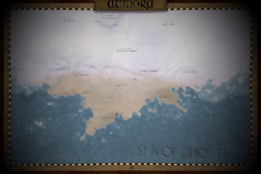 Atmora Map [Elder Scrolls Universe] by DwarfChieftain