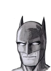 Batman sketch by Davinder