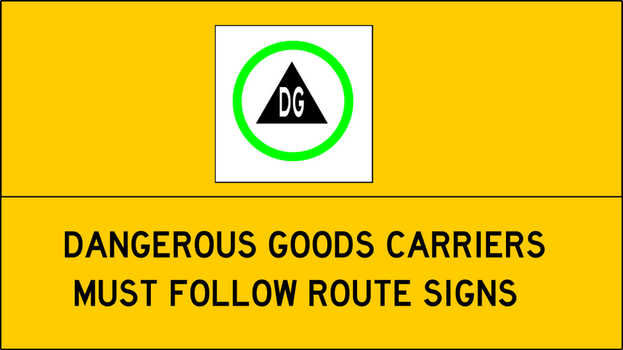 Dangerous Goods Sign by TheSuperArtWorks