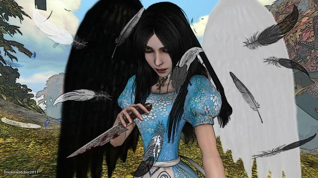 Alice - Lost Angel by Dreamwatcher2011