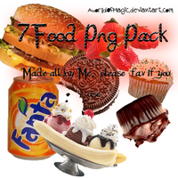 -7 Pack PNG Food'. by aworldofmagic