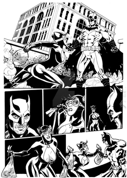 Batman Sample Page 01 Cloves Rodrigues by cloves-rodrigues