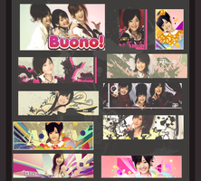 Buono Tag wall by EvanFallen-J-Fan