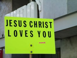Jesus loves you by Campam12