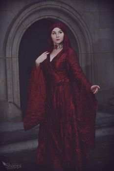 Red Woman Melisandre - Game of Thrones by Shappi