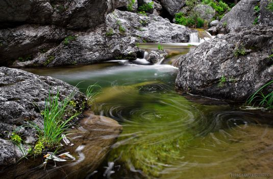 Water Swirls by photogrifos