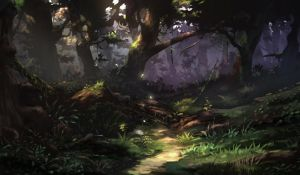 Practice and study Forest by puyoakira
