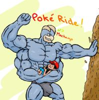 Pokeride: Machamp