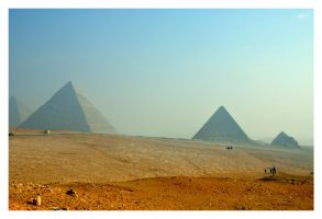 The Pyramids by cemito