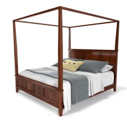 Chesapeake Canopy Bed by viiik33