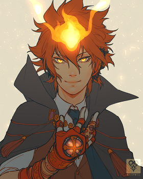 Vongola Decimo by whispwill