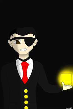 Bob The Boss of Vinet (with the eye glow tidy) by Shyguy-C4beludo