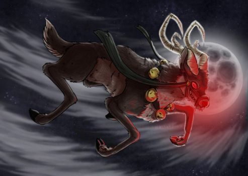 Rudolph the Red by PikeyFaux