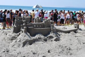 Sandcastle stock 1 by chamberstock