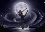 Lunar Dancer by EllenorMererid