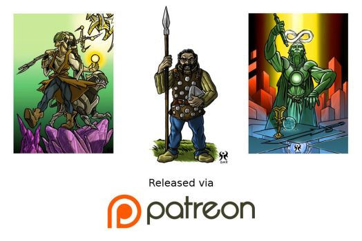 Patreon for May 2017 by artikid