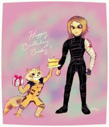 Happy Birthday Bucky by Apeliotus