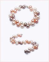 Freshwater Button Pearl Bracelet by Sarahorsomeone