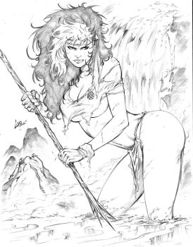 Savage Rogue by CaioMarcus-ART