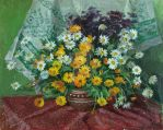 Still life with calendula by AmsterdamArtGallery