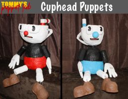 Cuphead Puppet Dummies by TommyGK