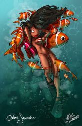 Scuba_Girl by 14-bis
