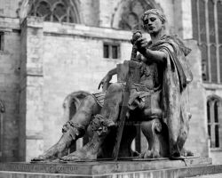 Statue of Constantine by SimonHS