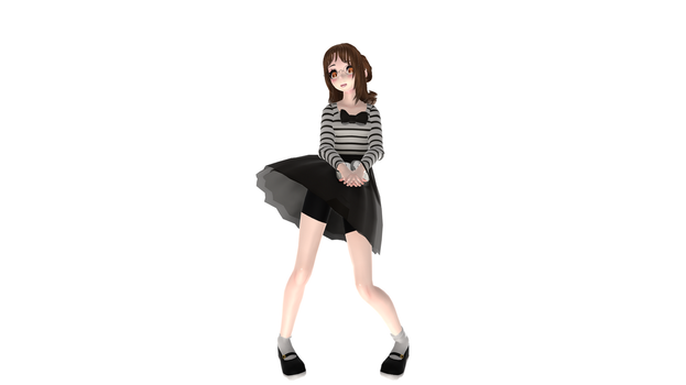 Emlet'sMeow MMD Model *UPDATED* by FiftiesYoungin