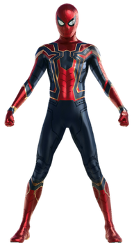 Spiderman Avengers Infinity War PNG by gasa979